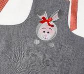 Одежда для девочек - Фартук детский Зайчик