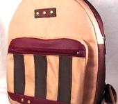 Сумки, рюкзаки - Рюкзак женский бежевый.