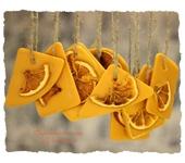 """Оригинальные подарки - Флорентийское саше """"Апельсин"""""""