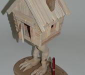 Вальдорфские куклы - Сувенир «Избушка на курьих ножках».