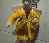 Куклы Тильды - Хранительница ванной комнаты