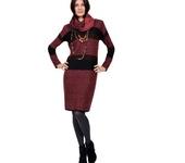 Платья - Вязаное платье