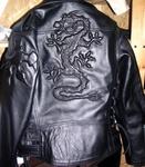 """Верхняя одежда - Объёмное изображение (давлёнка) """"Дракон"""""""