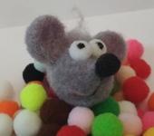 Брелоки - Брелок Крези Мышь