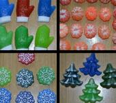 Мыло ручной работы - Мыло сувенир на новый год