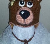 Головные уборы - шапка медведь-миша