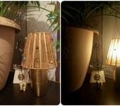 Светильники, люстры - Светильник из бисера и бусин