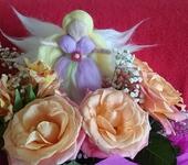 Изготовление кукол, игрушек - Цветочная фея