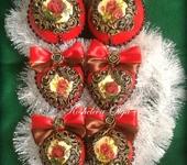 Комплекты украшений - Набор елочных шаров