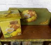 """Предметы для кухни - Полка для кухни """"Сочный лимон"""""""