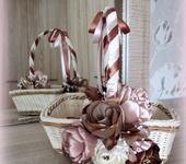 Декоративная посуда - Плетеная корзина для мелочей