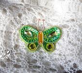 Броши - Бабочка Кэти