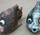 Оригинальные подарки - керамическая рыбка