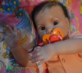 Куклы реборн - Кукла реборн Камилла из мрлда Шанель от Доны Руберт(АКЦИЯ)
