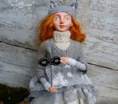 """Сказочные персонажи - Интерьерная, авторская кукла """"Лесной театрик"""" в единственном экземпляре"""