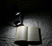 Светильники, люстры - Настольная лампа из дерева