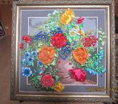 """Вышитые картины - Картина """"Цветочное изобилие"""""""