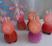 Свечи ручной работы - Свечи ручной работы ПЕППА и Джоржд