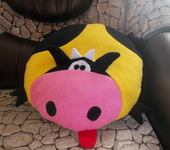 Подушки, одеяла, покрывала - игрушка подушка бычок