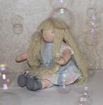 Вальдорфские куклы - вальдорфская кукла Флер