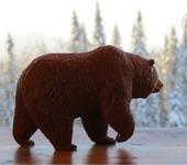 Статуэтки - Кедровый медведь Мокко