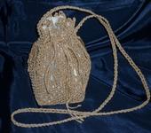 Сумки, рюкзаки - Плетеная женская сумка торба