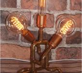 Светильники, люстры - Настольная лампа ручной работы.