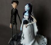 Свадебные аксессуары - Фигурки на свадебный торт Труп невесты