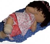 Вальдорфские куклы - Кукла-младенец Полинка