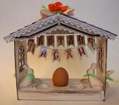 Оригинальные подарки - Пасхальный домик