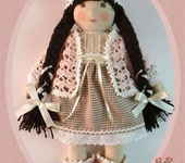 Вальдорфские куклы - Рози