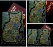 """Обложки для паспорта - """"Волшебный песик"""""""