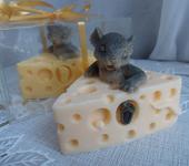 Мыло ручной работы - Мыло ручной работы Мышка в сыре