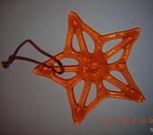 Оригинальные подарки - Звезда оранжевая