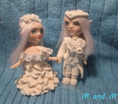Другие куклы - Пара Здездные Эльфы, юноша и девушка