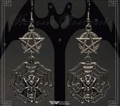 Серьги - Серьги MAGIC SPIDER (v. 001 серебро)