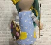 Куклы Тильды - Кукла-художница