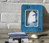 Рамки для фото, картин - Фоторамка «Рыбы» с серией фотографий «Синий альбом»