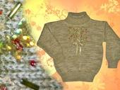 Кофты и свитера - Свитер для девочки