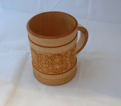 Кружки, чашки - Кружка пивная деревянная