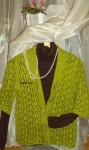 Кофты и свитера - Ажур в мохере