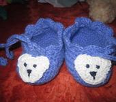 Для новорожденных - Пинетки Медвежата