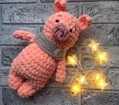 Вязаные куклы - Свинка