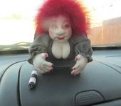 "Другие куклы - Кукла попик ""ДПС""."