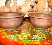 Тарелки - тарелки из красной глины