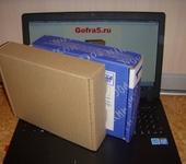 Подарочная упаковка - Почтовая коробка Тип Е (№1)