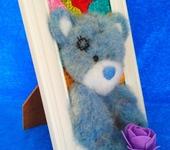 Вышитые картины - 3д картина Мишка Тедди