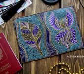 Обложки для паспорта - Обложка на паспорт с росписью