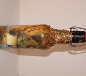 Декоративные бутылки - Воспоминание о море