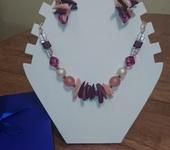 Комплекты украшений - Серьги и ожерелье